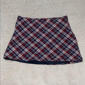 H&M cute plaid skirt
